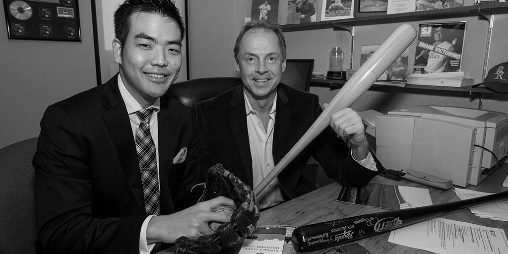 Prof. Ken Jacobsen and Han Lee