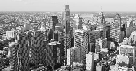 Philadelphia Aerial Skyline