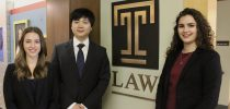 Temple Law ICC Moot Court Team Advances to The Hague