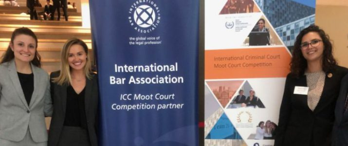 Temple Team Represents the U.S. at International Criminal Court Moot Court Competition