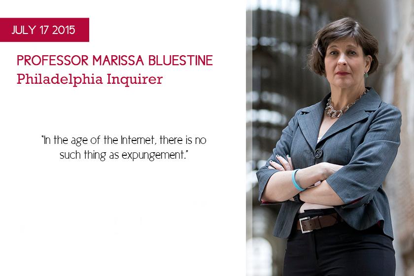 Marissa Bluestine Expungement