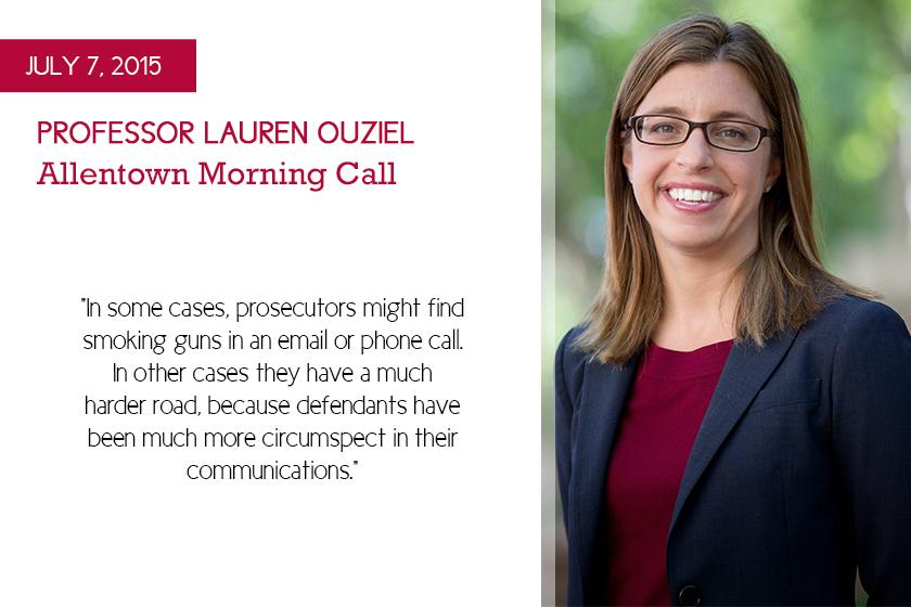 Professor Lauren Ouziel