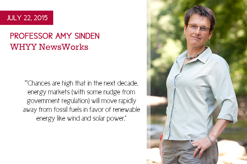 Amy Sinden NewsWorks Energy Deal