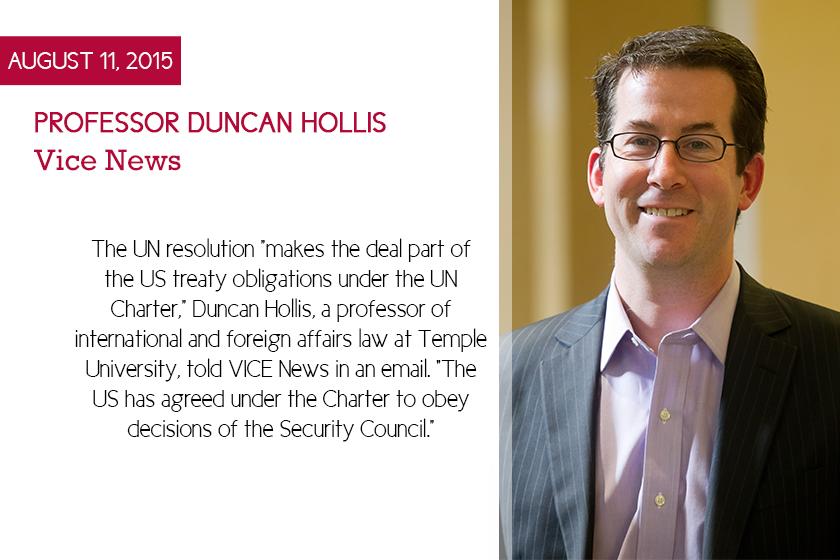 Duncan Hollis