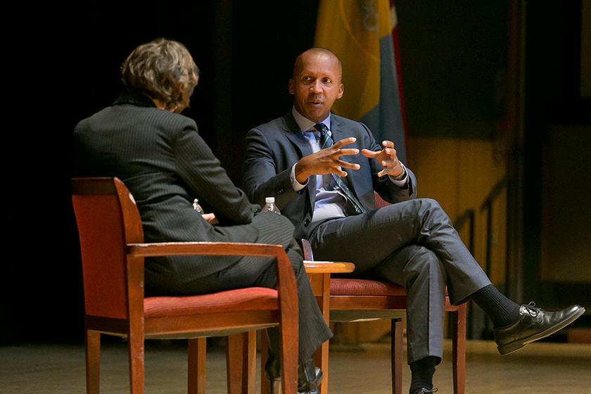 Bryan Stevenson at Temple Law School