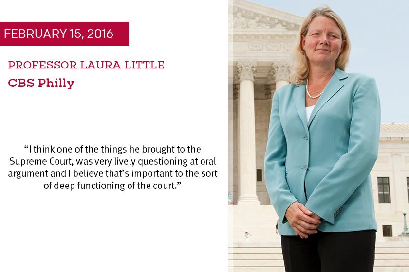 Laura Little Antonin Scalia