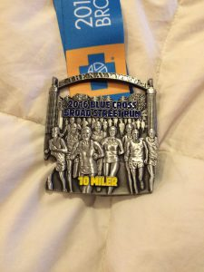 Broad St Run Medal 2016