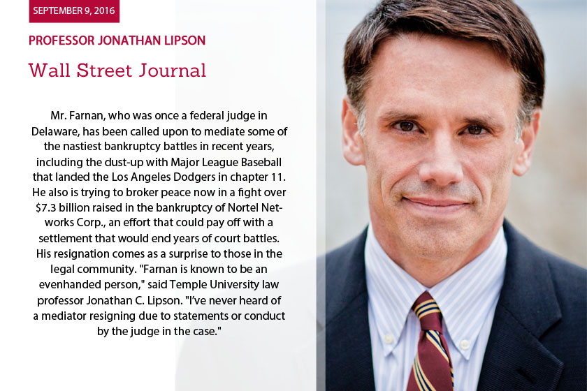 Professor Jonathan Lipson
